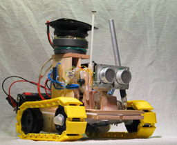 The Yellow Drum Machine Robot